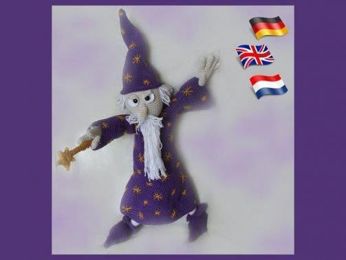 Zauberer Calum, PDF Anleitungen Puppe