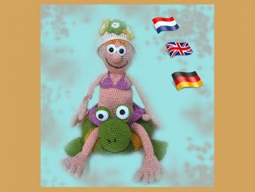 Sommer Mädchen Leigh PDF anleitung Puppe