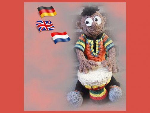 Süd-Afrikaner Badru  PDF anleitung Puppe