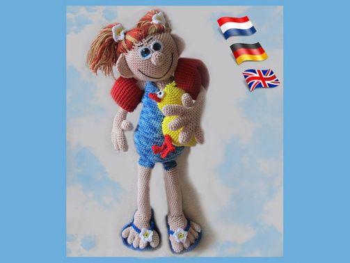 Sunny PDF Häkelanleitung Puppe