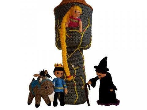 Kalle und Alma reisen in die Märchenwelt ... Rapunzel