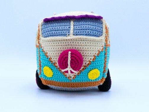 Häkelanleitung: Hippie Bus
