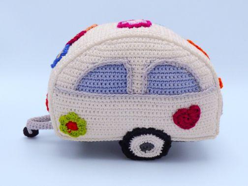 Häkelanleitung: Hippie Wohnwagen
