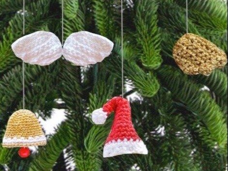 "Häkelanleitung: ""Weihnachtsanhänger 2"""