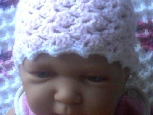 """Häkelanleitung Babymützchen """"Resli"""""""