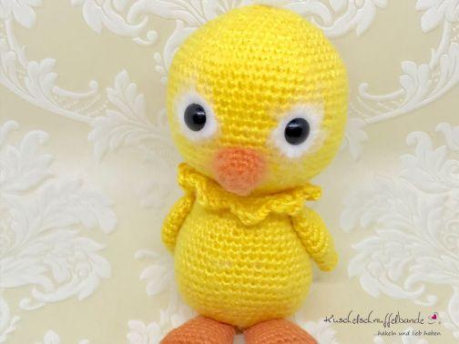 Kuschelschnuffelbande Häkelanleitung Baby Ente Klärchen