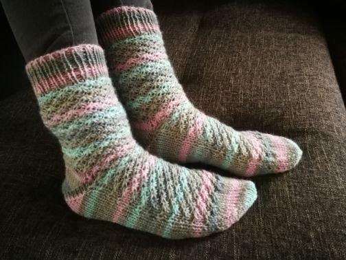 Strickanleitung Kuschel-Wellness Socken
