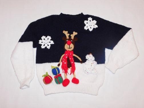 Strickanleitung Merry Christmas Pullover