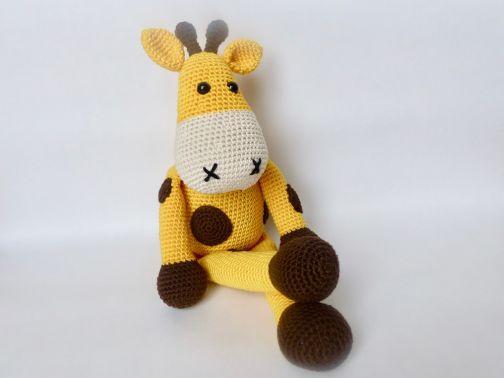 Spieluhr Giraffe Glückskind (Häkelanleitung)