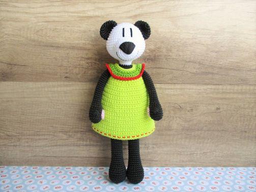 Häkelanleitung Sophie Panda