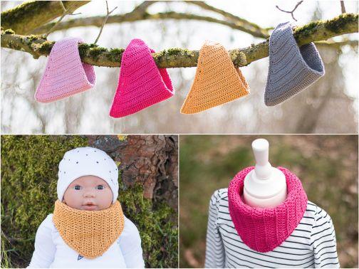 Häkelanleitung Halstuch für Babys und Kinder