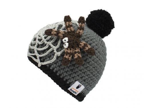 Häkelanleitung für Halloween Mütze Kumonosu
