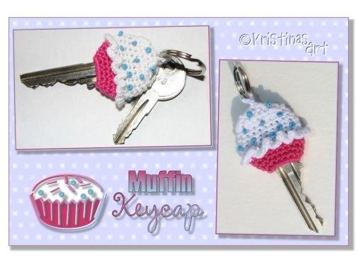 Häkelanleitung Key Cap Muffin