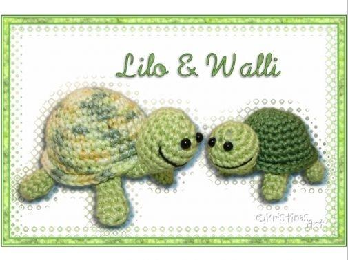 Häkelanleitung Schildkröten - Amigurumi
