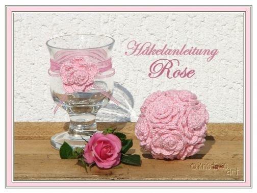 Rose Häkelanleitung