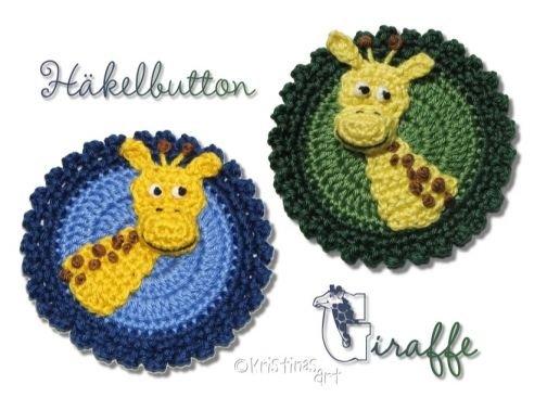 Häkelanleitung Button Giraffe