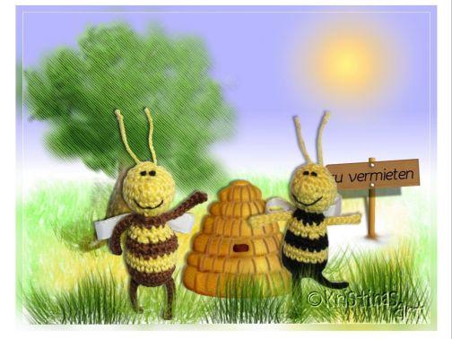 Häkelanleitung Bienchen