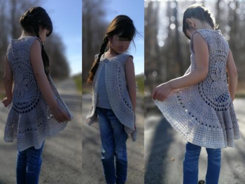 Kreisjacke Lillte Princessa
