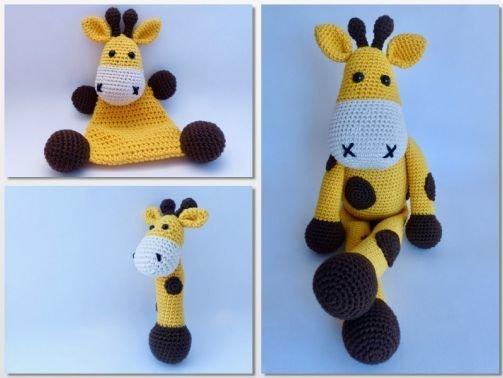 Sparset Giraffe Glückskind (Häkelanleitung)