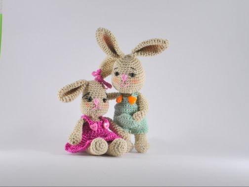 Bunny Hazel and Hope