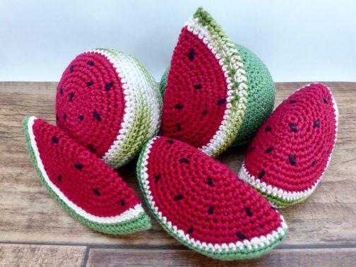 Wassermelone für die Kinderküche und den Kaufmannsladen