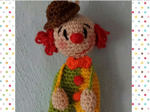 Clown Oskar ...