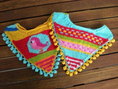 Halstuch -  Strickanleitung für Babies undKleinkinder