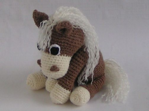 Häkelanleitung Pferd Amigurumi