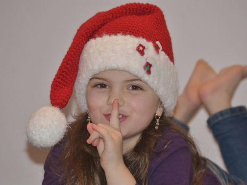 ++ SANTA ++ Zipfelmütze für kleine & große Weihnachtsmänner
