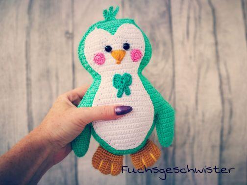 """Süßes Pinguinpärchen """" Pia und Paul"""" häkeln"""