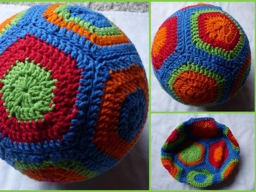 Häkelanleitung Luftballonhülle / Ball