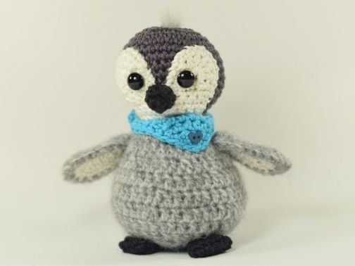 Haekelicious Baby-Pinguin mit Halstuch