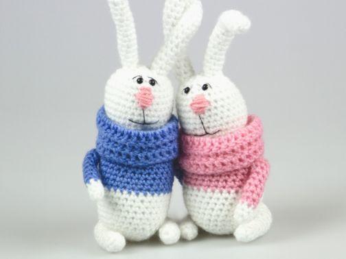 Amigurumi Puppe Kaninchen Häkelanleitung
