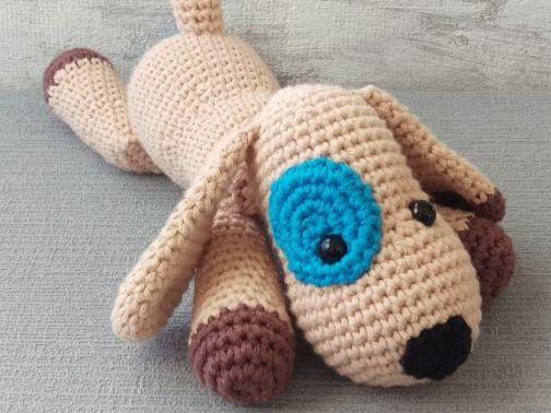 Hund - Häkelanleitung