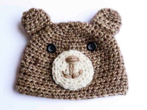 Bärenmütze für Babys, Kinder und Erwachsene