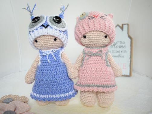 Häkelanleitung Tamituzi Kostüm Elli und Minka