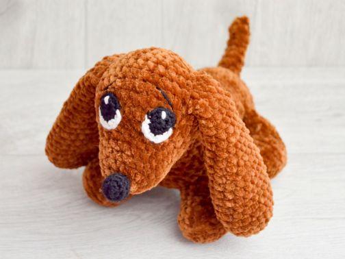 Hund häkeln--Welpe häkeln--Amigurumi//Deko DIY | 378x504