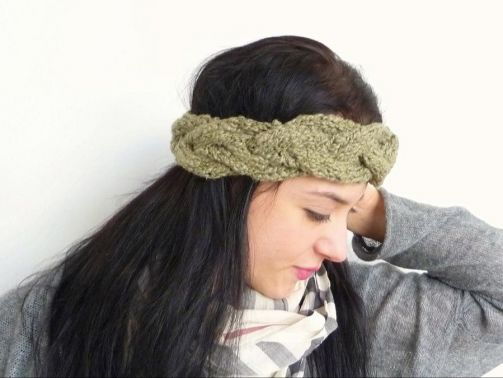 Strickanleitung - Stirnband Headband - No.108