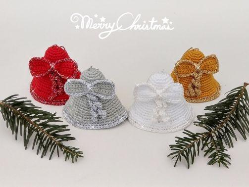 """Häkelanleitung Glocke """"Weihnachtsglocke"""""""