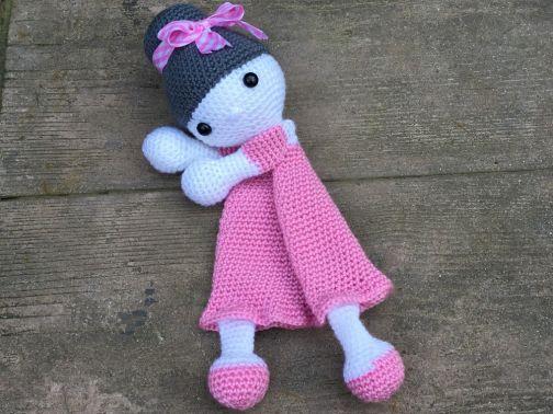Erste Toy Amigurumi Toy Doll Julia Schmusetuch