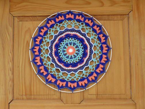 """Mandala """"Blaue Lagune"""""""