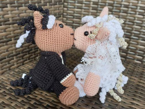 Brautpaar Pferdi