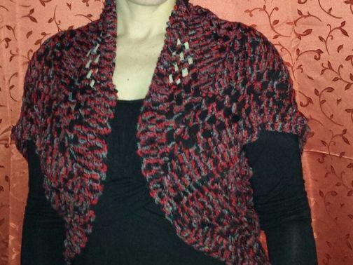 Seelenwärmer Lady in Red, Gr 40 - 44