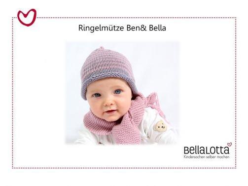 Ringelmütze Ben & Bella