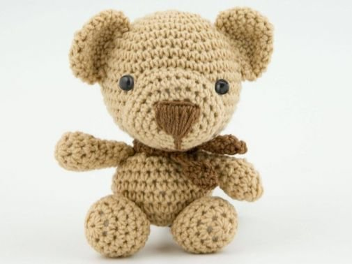 Amigurumi Puppe Teddybär Häkelanleitung
