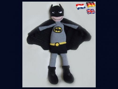 43 Free Batman Amigurumi Pattern Collection Pictures - Page 3 of ... | 378x503