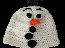 Häkelanleitung für Disney Mütze Olaf