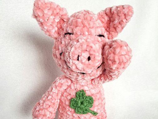 Glücksschweinchen Dat Yarn's