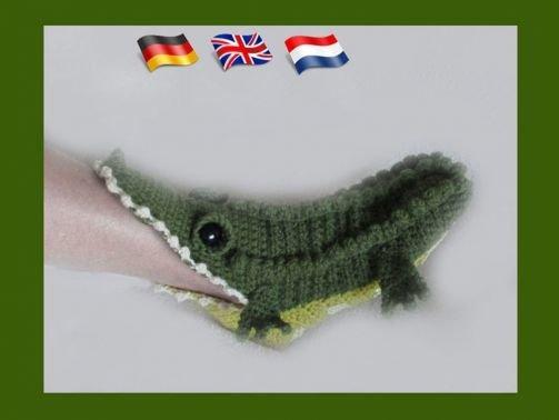 Echte Crocs (Krokodil Hausschuhe für Erwachsene)
