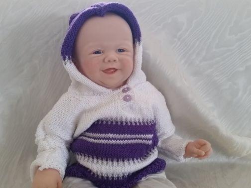 """Strickanleitung - Babyset """"Sophie"""""""
